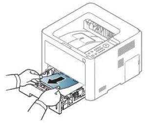 Замятие бумаги в принтере